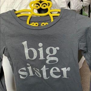 Big sister Long sleeved T-shirt